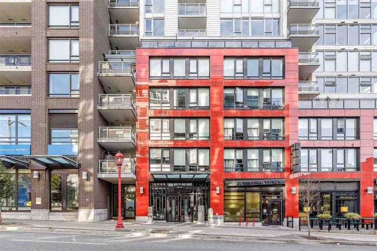 615 188 KEEFER STREET - Downtown VE Apartment/Condo for sale, 1 Bedroom (R2518074)