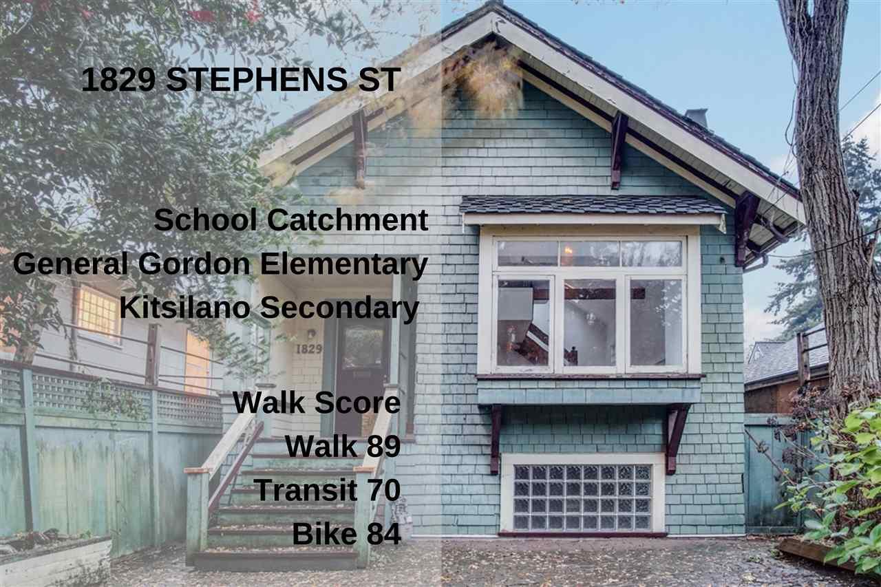 1829 STEPHENS STREET - Kitsilano House/Single Family for sale, 2 Bedrooms (R2518181) - #28