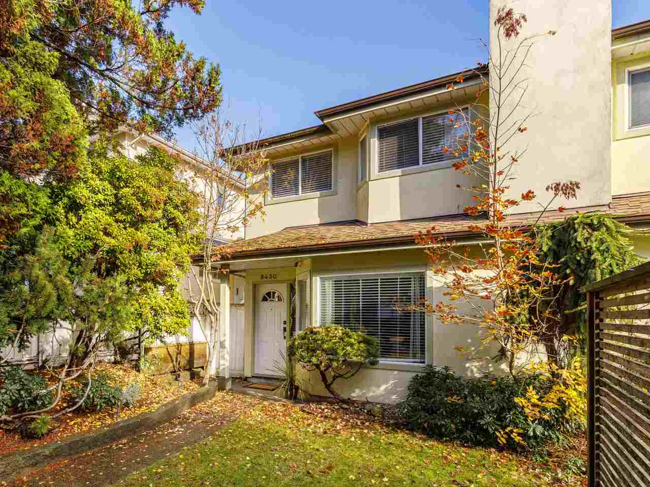 8430 FRENCH STREET - Marpole 1/2 Duplex for sale, 3 Bedrooms (R2518199)