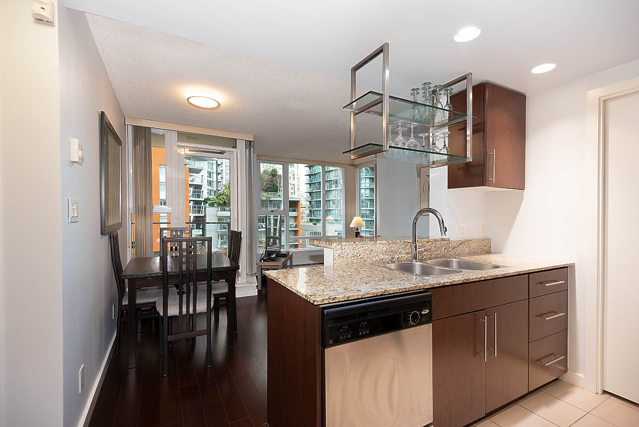 607 550 PACIFIC STREET - Yaletown Apartment/Condo for sale, 1 Bedroom (R2518255) - #5