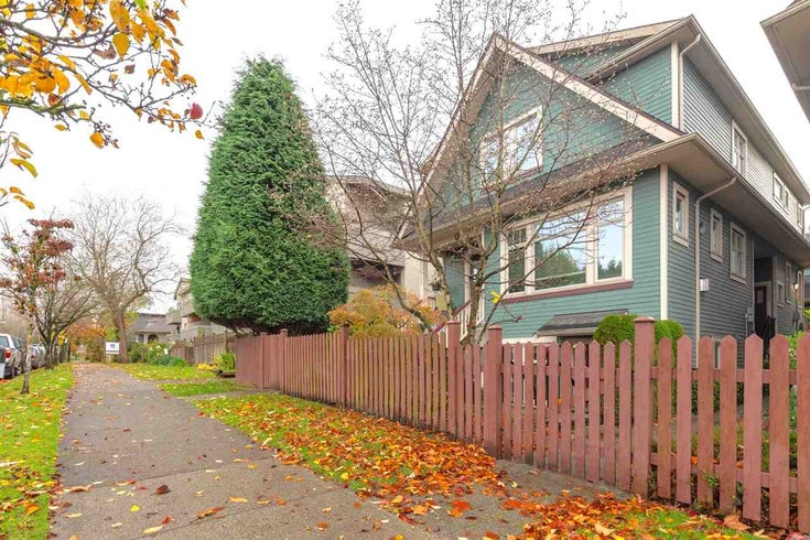 1526 GRAVELEY STREET - Grandview Woodland Townhouse for sale, 2 Bedrooms (R2518305)