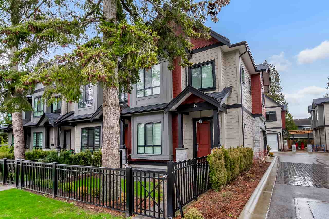 14 7388 RAILWAY AVENUE - Granville Townhouse for sale, 3 Bedrooms (R2518424)