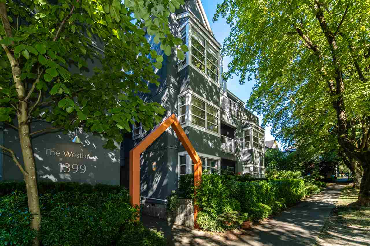 106 1399 BARCLAY STREET - West End VW Apartment/Condo for sale, 1 Bedroom (R2518607)