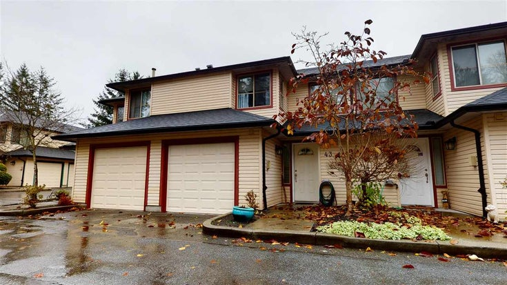 43 21960 RIVER ROAD - West Central Townhouse for sale, 3 Bedrooms (R2518701)