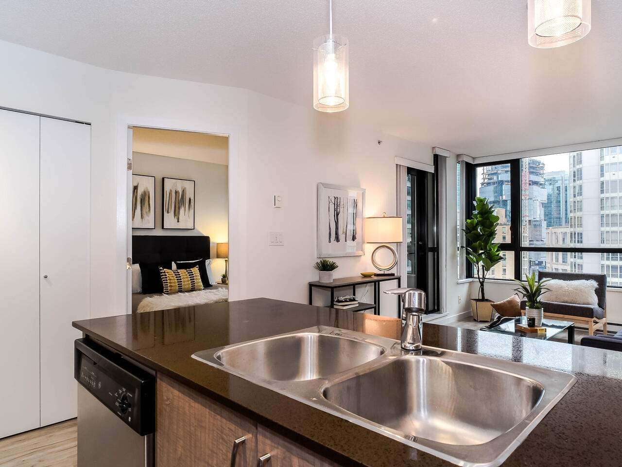 1810 909 MAINLAND STREET - Yaletown Apartment/Condo for sale, 1 Bedroom (R2518845) - #5