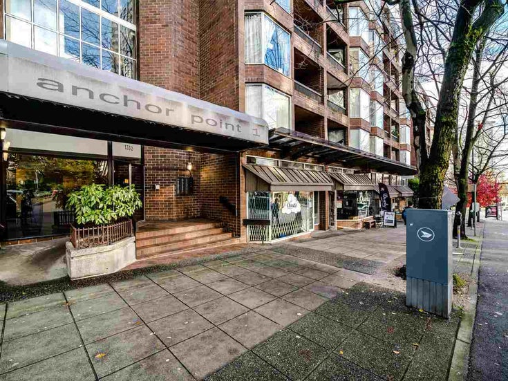 720 1330 BURRARD STREET - Downtown VW Apartment/Condo for sale, 1 Bedroom (R2519046)