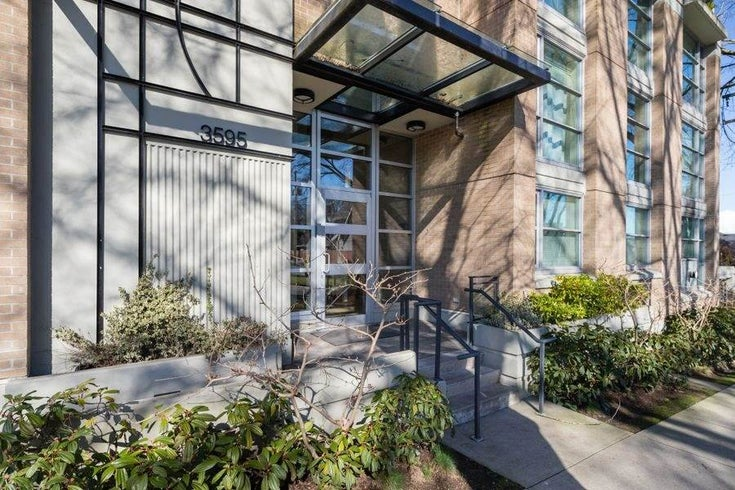 302 3595 W 18TH AVENUE - Dunbar Apartment/Condo for sale, 2 Bedrooms (R2519070)