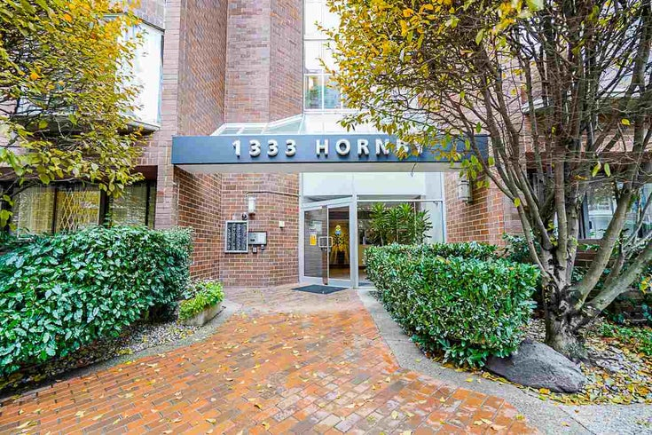 622 1333 HORNBY STREET - Downtown VW Apartment/Condo for sale, 1 Bedroom (R2519165)