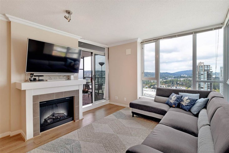 3608 1178 HEFFLEY CRESCENT - North Coquitlam Apartment/Condo for sale, 2 Bedrooms (R2519309)