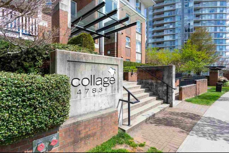 111 4783 DAWSON STREET - Brentwood Park Apartment/Condo for sale, 2 Bedrooms (R2519324)