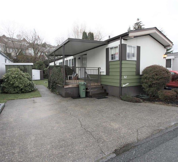 61 3300 HORN STREET - Central Abbotsford Manufactured for sale, 2 Bedrooms (R2519380)
