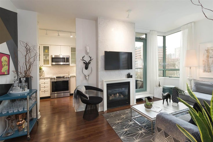 507 1238 BURRARD STREET - Downtown VW Apartment/Condo for sale, 1 Bedroom (R2519382)