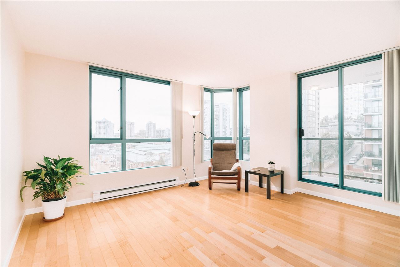 607 838 AGNES STREET - Downtown NW Apartment/Condo for sale, 1 Bedroom (R2519440)