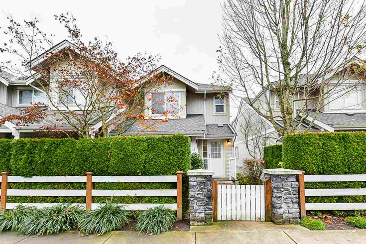 13 6568 193B STREET - Clayton Townhouse for sale, 4 Bedrooms (R2519663)