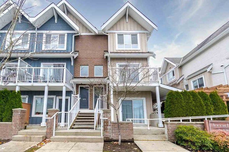 202 1661 FRASER AVENUE - Glenwood PQ Townhouse for sale, 2 Bedrooms (R2519698)