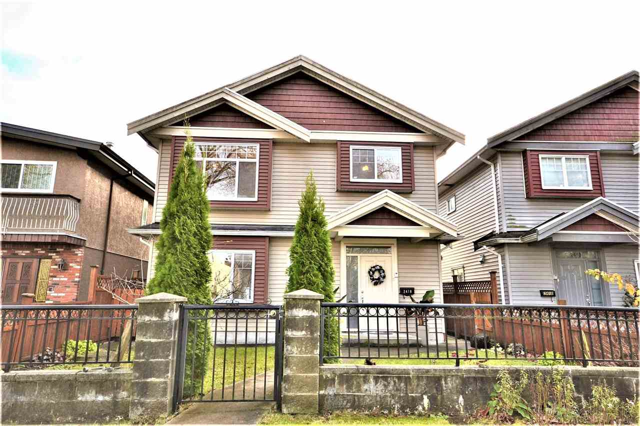 2418 E 19TH AVENUE - Renfrew Heights House/Single Family for sale, 8 Bedrooms (R2519976) - #1