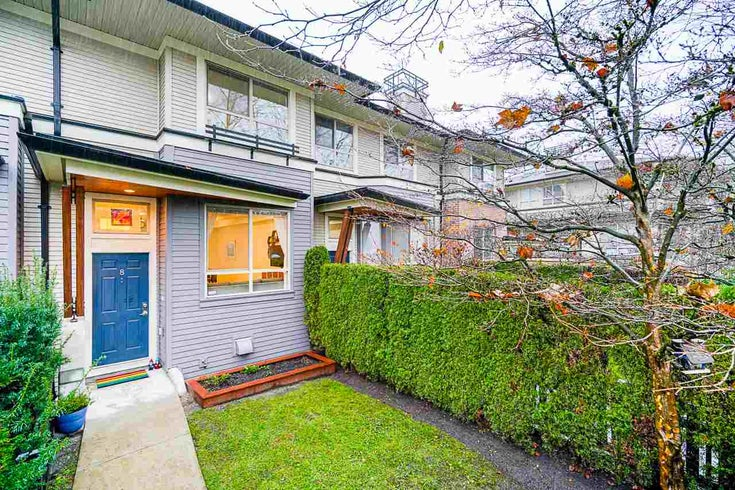 8 100 KLAHANIE DRIVE - Port Moody Centre Townhouse for sale, 3 Bedrooms (R2520025)