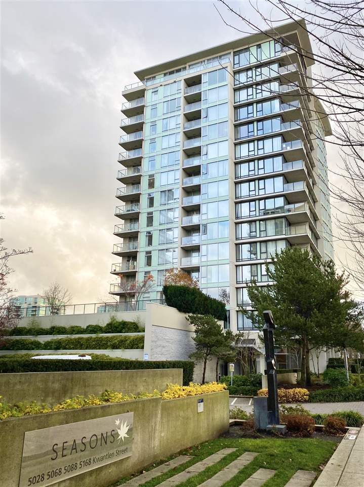 1703 5088 KWANTLEN STREET - Brighouse Apartment/Condo for sale, 2 Bedrooms (R2520165)