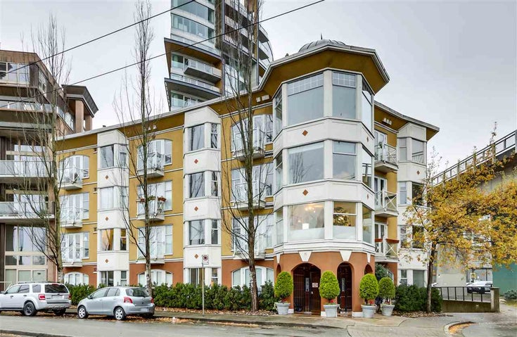 203 1562 W 5TH AVENUE - False Creek Apartment/Condo for sale, 1 Bedroom (R2520182)