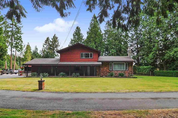 1988 196TH STREET - Brookswood Langley House with Acreage for sale, 3 Bedrooms (R2520250)