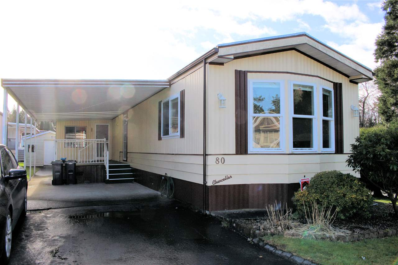 80 2315 198 STREET - Brookswood Langley Manufactured for sale, 2 Bedrooms (R2520416) - #1