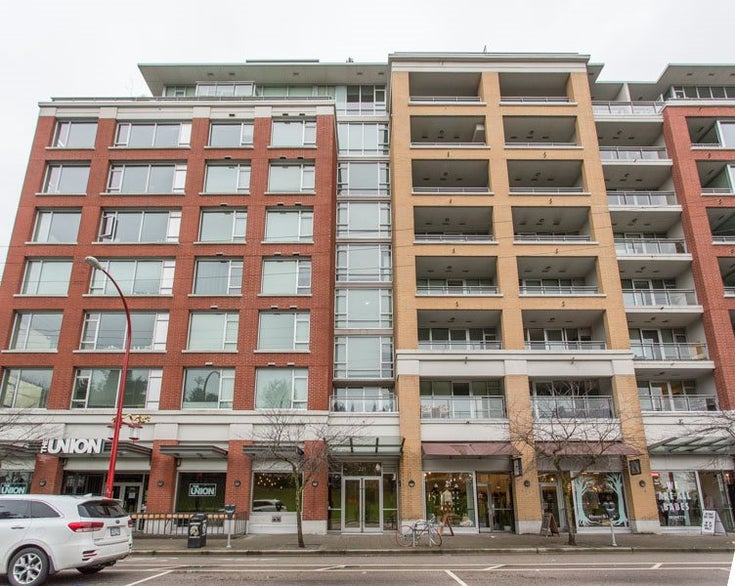 804 221 UNION STREET - Strathcona Apartment/Condo for sale, 1 Bedroom (R2520455)