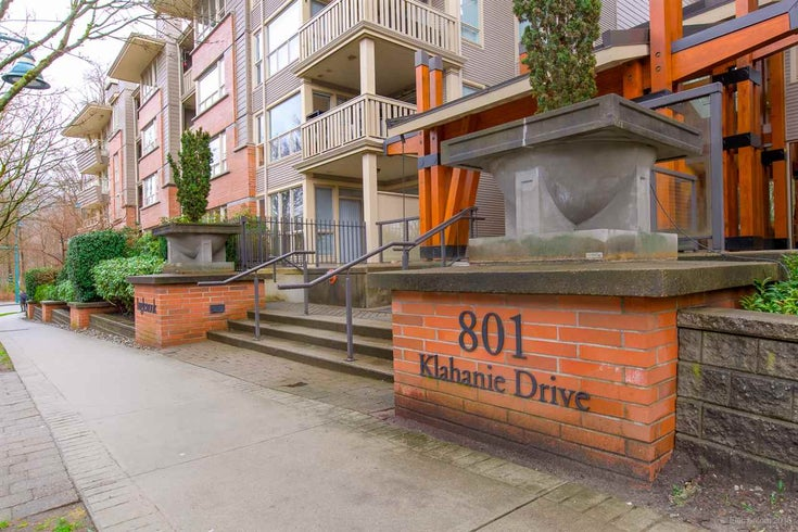111 801 KLAHANIE DRIVE - Port Moody Centre Apartment/Condo for sale, 1 Bedroom (R2520490)