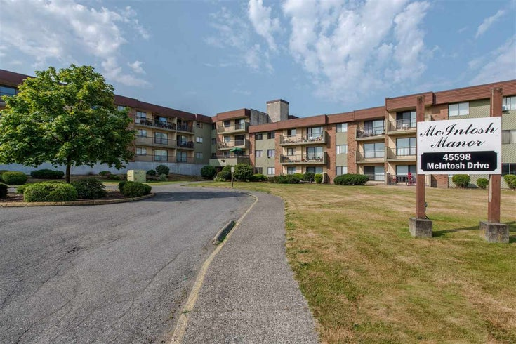 209 45598 MCINTOSH DRIVE - Chilliwack W Young-Well Apartment/Condo for sale, 2 Bedrooms (R2520652)