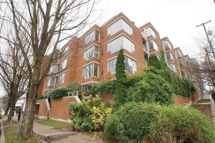501 2438 HEATHER STREET - Fairview VW Apartment/Condo for sale, 2 Bedrooms (R2520689)