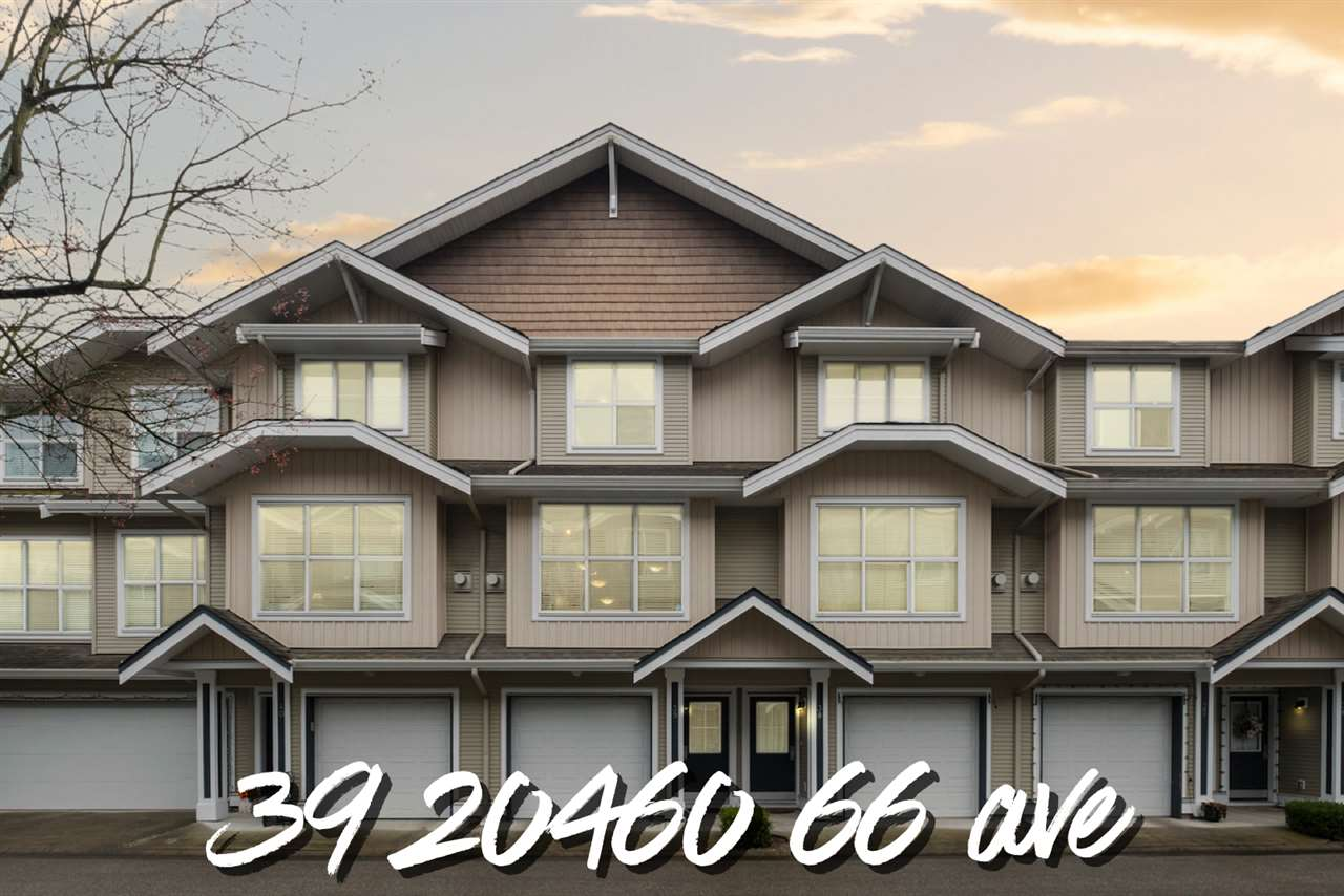 39 20460 66 AVENUE - Willoughby Heights Townhouse for sale, 2 Bedrooms (R2520766)