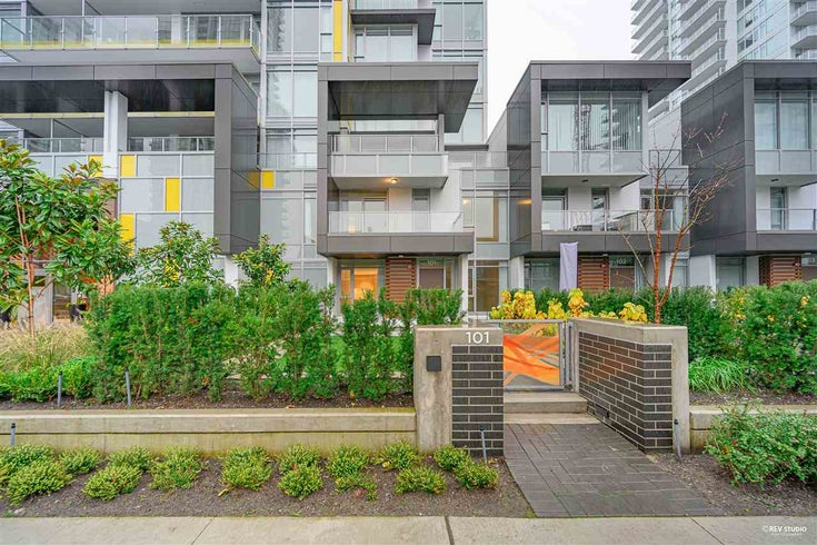 101 6700 DUNBLANE AVENUE - Metrotown Townhouse for sale, 2 Bedrooms (R2520810)