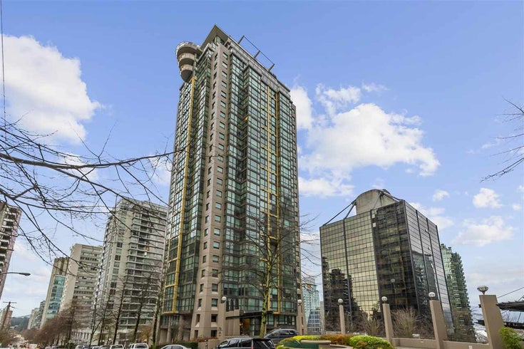 1110 1367 ALBERNI STREET - West End VW Apartment/Condo for sale, 1 Bedroom (R2520909)