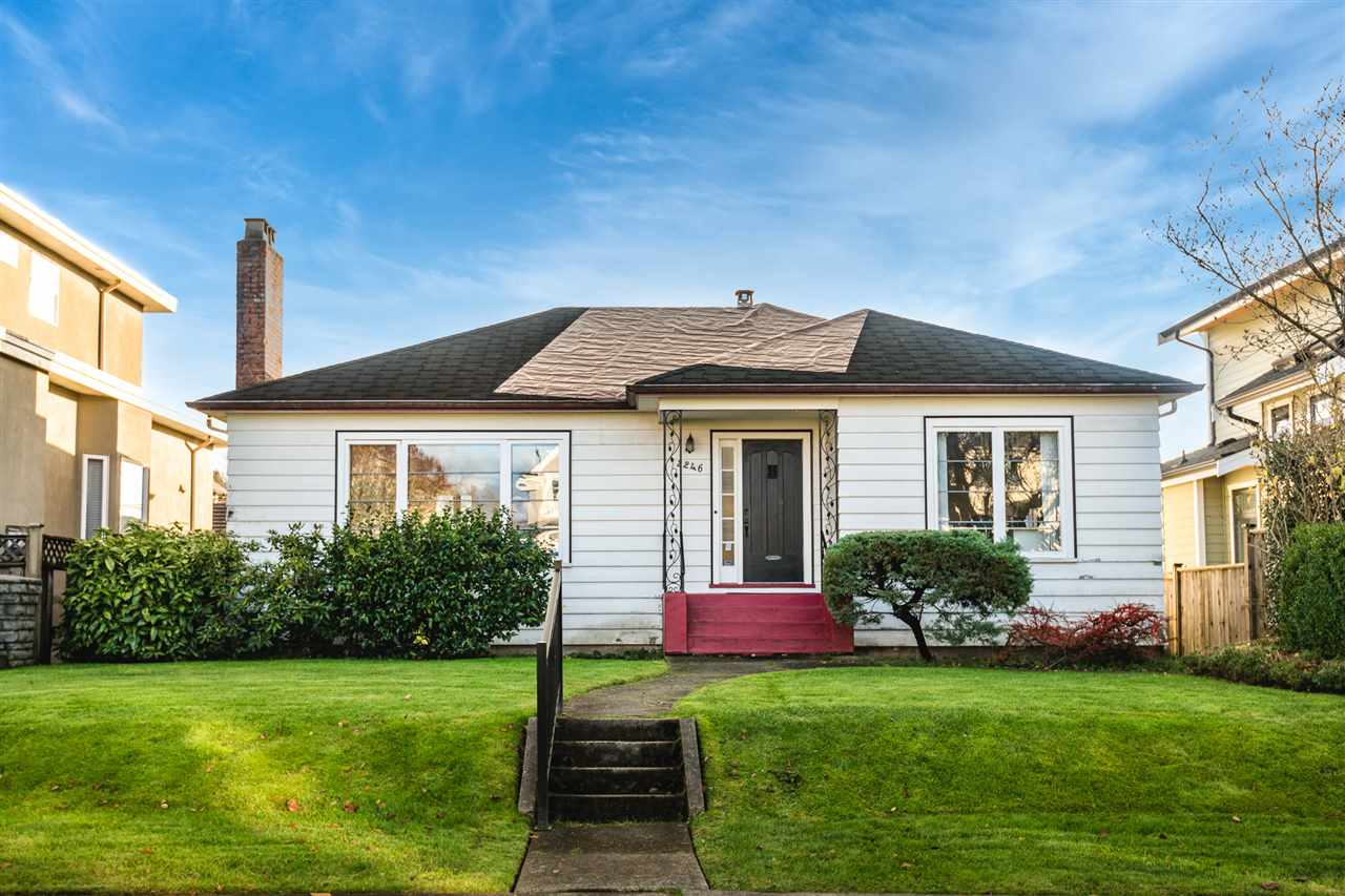 2246 W 20TH AVENUE - Arbutus House/Single Family for sale, 4 Bedrooms (R2520918)