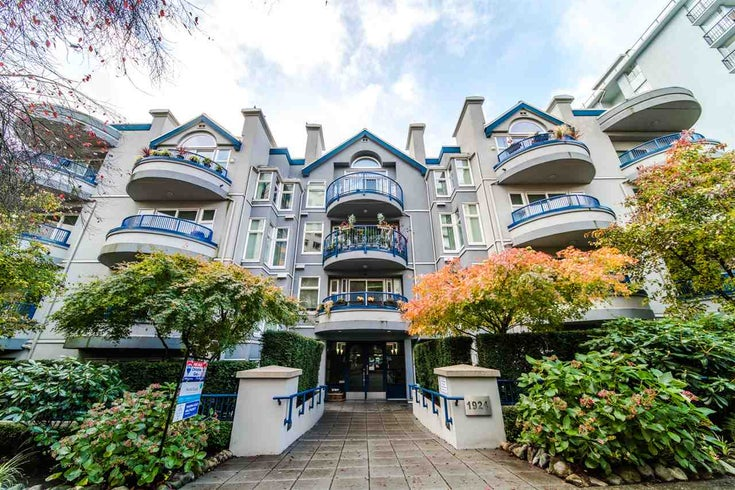 310 1924 COMOX STREET - West End VW Apartment/Condo for sale, 1 Bedroom (R2520972)