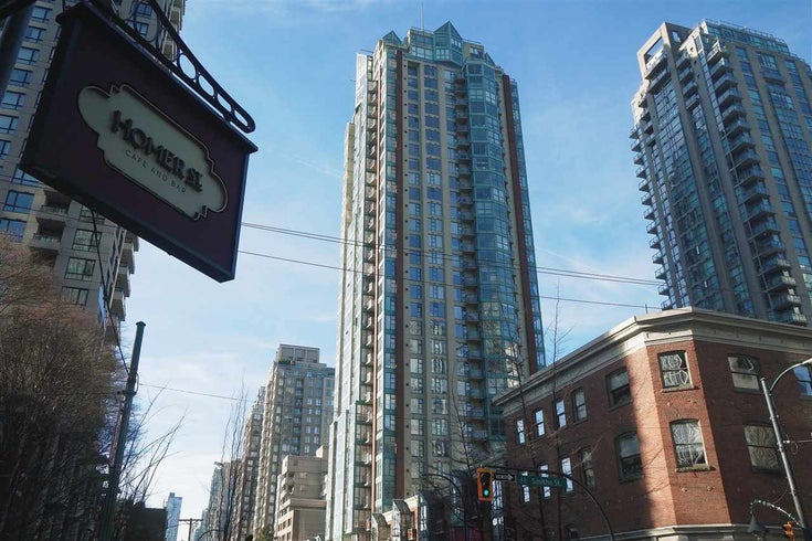 1110 939 HOMER STREET - Yaletown Apartment/Condo for sale, 1 Bedroom (R2520991)