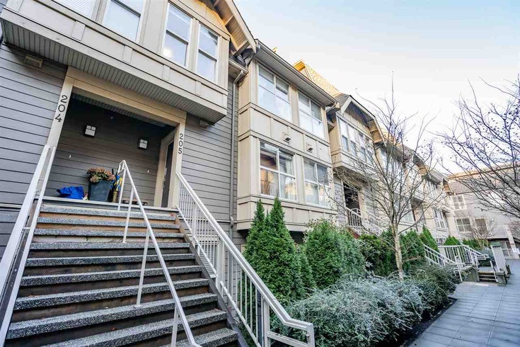 205 2110 ROWLAND STREET - Central Pt Coquitlam Townhouse for sale, 3 Bedrooms (R2521189)