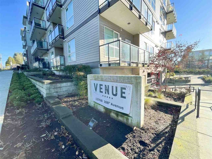 430 13768 108 AVENUE - Whalley Apartment/Condo for sale, 1 Bedroom (R2521627)
