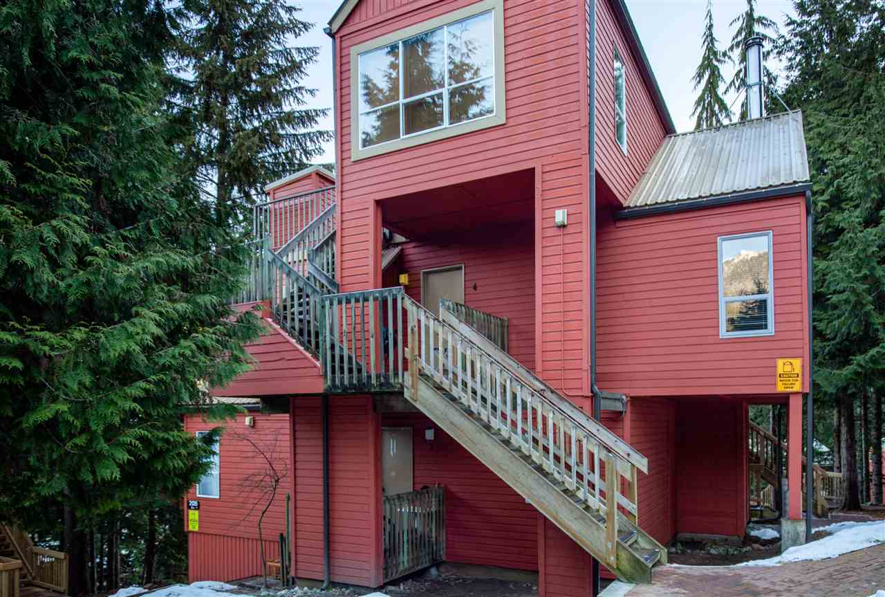 4 2126 SARAJEVO DRIVE - Whistler Creek Townhouse for sale, 1 Bedroom (R2522121)