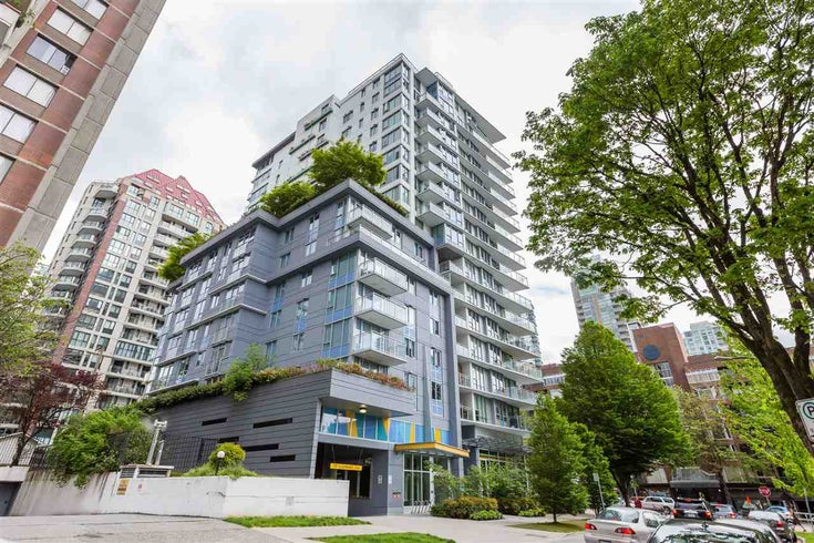 1701 1009 HARWOOD STREET - West End VW Apartment/Condo for sale, 1 Bedroom (R2522734)