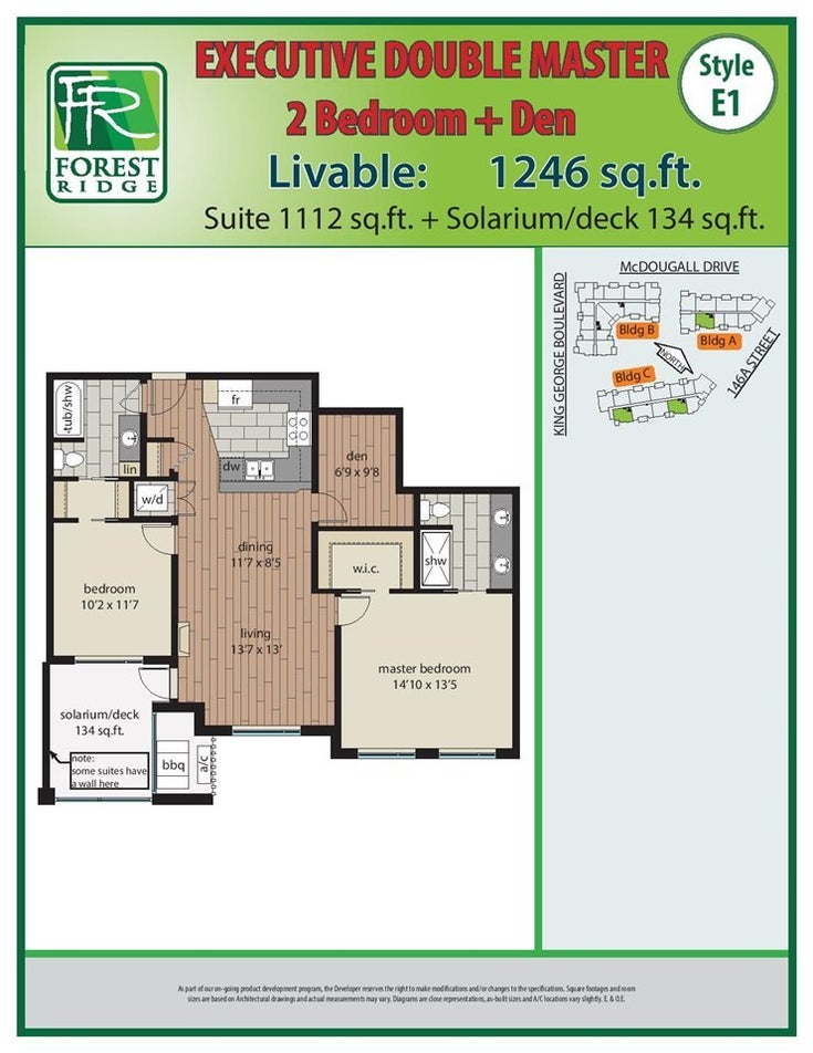 404 3585 146A STREET - King George Corridor Apartment/Condo for sale, 2 Bedrooms (R2523007)