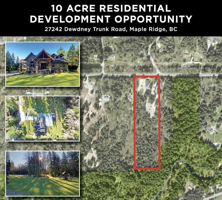 27242 DEWDNEY TRUNK ROAD - Northeast House with Acreage for sale, 5 Bedrooms (R2523092)