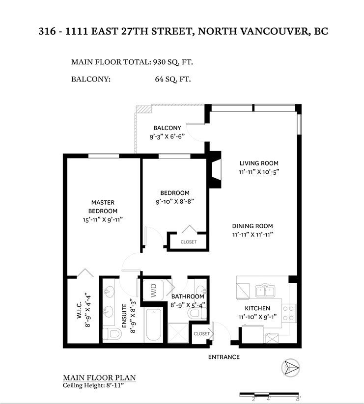 316 1111 E 27TH STREET - Lynn Valley Apartment/Condo for sale, 2 Bedrooms (R2523279) - #22