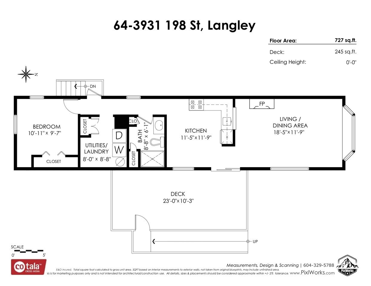 64 3931 198 STREET - Brookswood Langley Manufactured with Land for sale, 1 Bedroom (R2523313) - #26