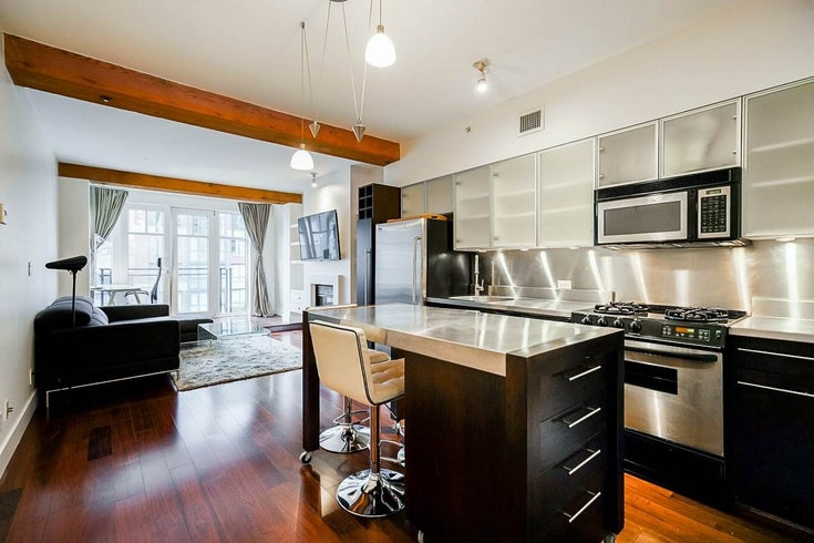 201 1275 HAMILTON STREET - Yaletown Apartment/Condo for sale, 1 Bedroom (R2523318)