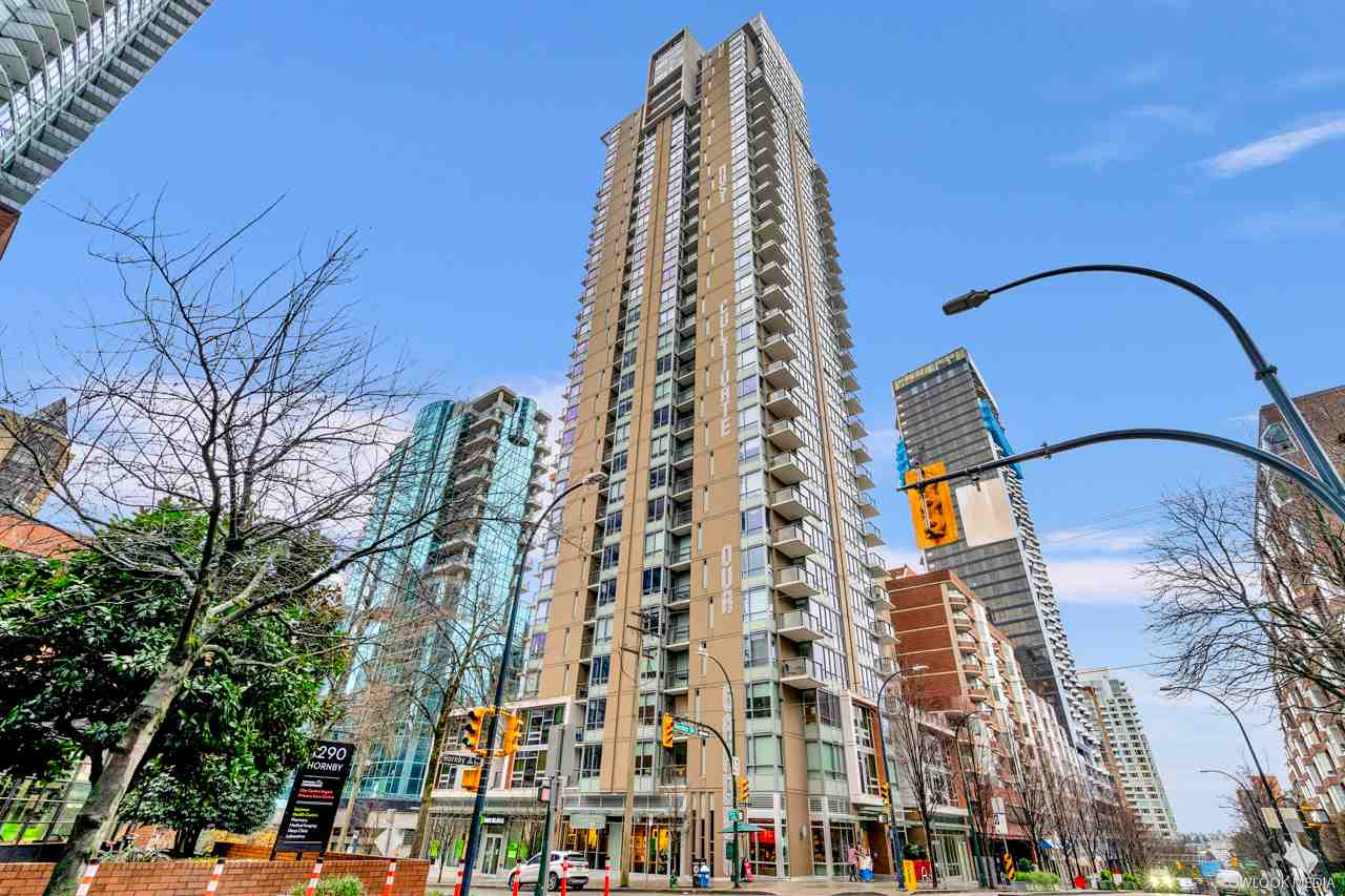 1605 1308 HORNBY STREET - Downtown VW Apartment/Condo for sale, 1 Bedroom (R2523789) - #1