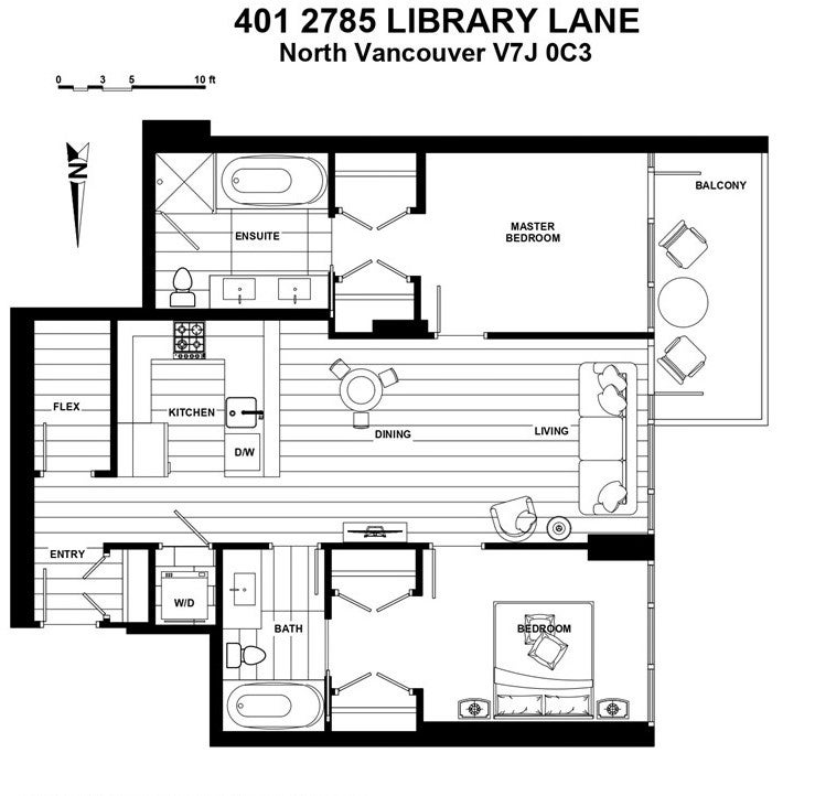 401 2785 LIBRARY LANE - Lynn Valley Apartment/Condo for sale, 2 Bedrooms (R2523967) - #6
