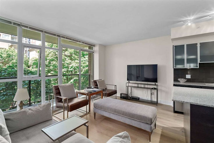 309 988 RICHARDS STREET - Yaletown Apartment/Condo for sale, 1 Bedroom (R2525625)