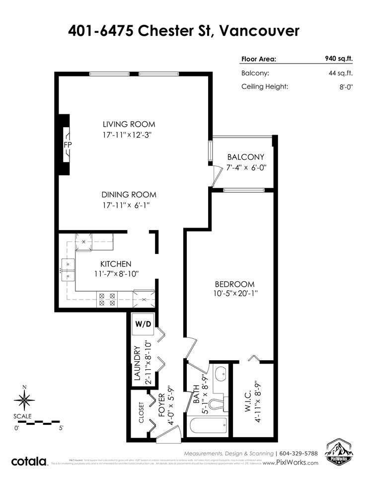 401 6475 CHESTER STREET - South Vancouver Apartment/Condo for sale, 1 Bedroom (R2526072) - #2