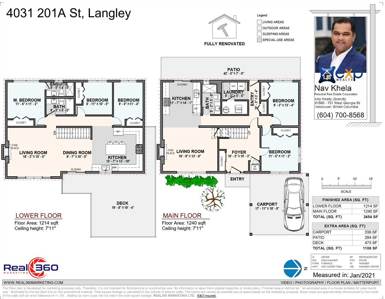 4031 201A STREET - Brookswood Langley House/Single Family for sale, 5 Bedrooms (R2526379) - #5