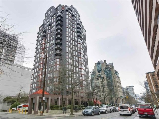 708 811 HELMCKEN STREET - Downtown VW Apartment/Condo for sale, 1 Bedroom (R2526616)
